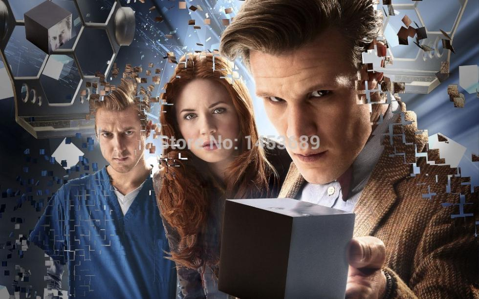 TV Show Doctor Who Home Wall Stylish HD Pop Retro Kids Poster Decor Best Nice Fabric Silk Cloth Poster