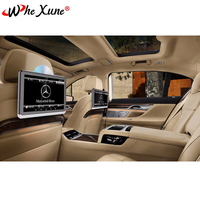 WHEXUNE 2PCS Android 6.0 Car Headrest DVD Monitor Player 10.2 Inch HD 1080P Video With WIFI/HDMI/USB/SD/Bluetooth/FM Transmitter