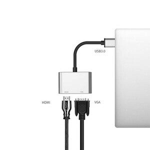 Image 5 - 2020 USB 3.0 إلى HDMI مهايئ VGA ماك OS USB إلى VGA HDMI محول 1080P محول دعم HDMI VGA مزامنة الإخراج ل Windows7/8/10