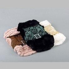 Прямая поставка с фабрики, новинка, зимняя одежда для собак, меховое теплое пальто, одежда для собак, леопардовые платья для собак, костюм