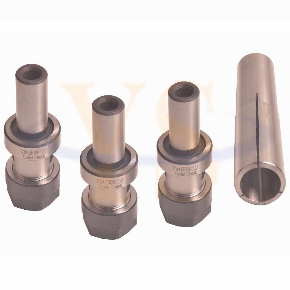 4pcs set MT4 ER20 Collet chuck Morse Taper Tool Holder hight quality morse taper shank drill chucks set cnc lathe drill chuck 5 to 20mm b22 with no 3 morse taper mt3 with key
