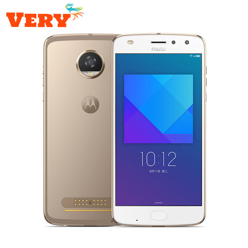 Motorola MOTO Z2 Play XT1710-0811 4G LTE Smartphone 4GB RAM 64GB ROM 5.5 Octa Core 12MP+5MP Android 7.1 Dual SIM