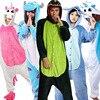 Lovers Unicorn Unisex Flannel Hooded Pajamas Adults Cosplay Cartoon Cute Animal Onesies Sleepwear Hoodies For Women