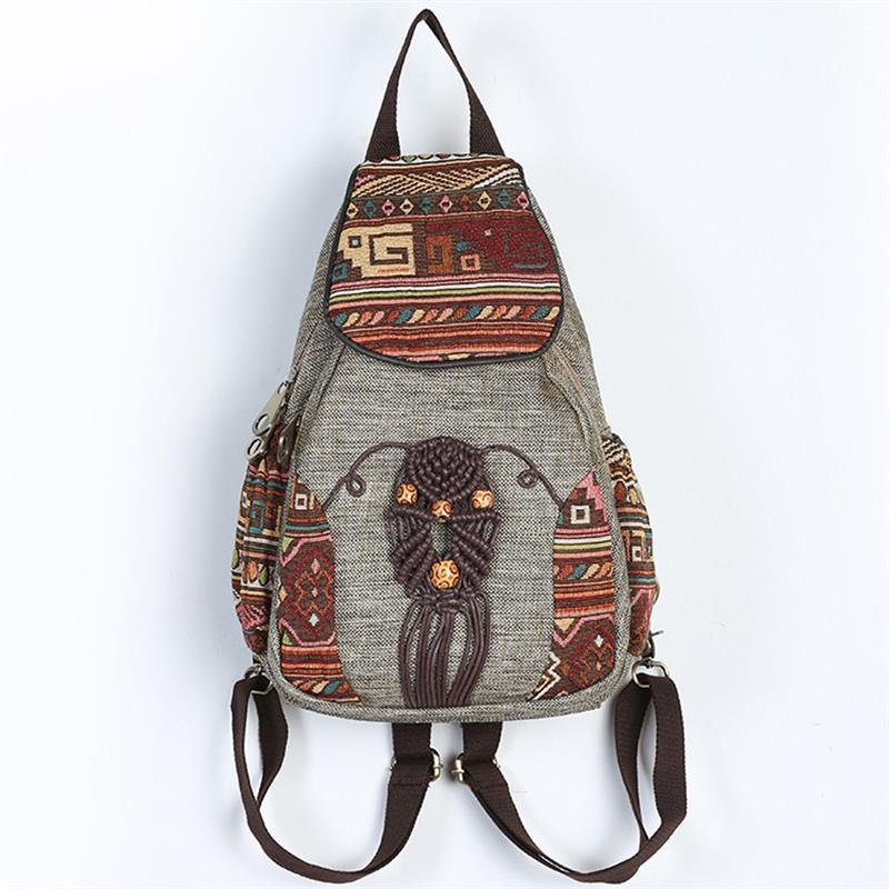 2019 mochila feminina do vintage mochilas artesanais