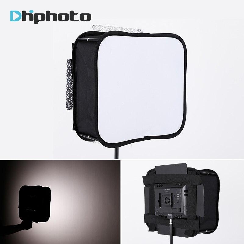 SB600/SB300 Studio Softbox Diffusore per YONGNUO YN300 YN600L II YN900 YN300 III Aria Luce Video Led Panel Pieghevole Filtro morbido