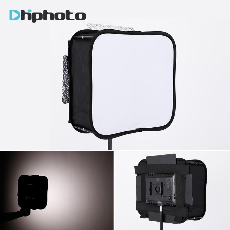 SB600/SB300 estudio Softbox difusor para YONGNUO YN600L II YN900 YN300 YN300 III aire Luz de vídeo Led Panel plegable filtro suave