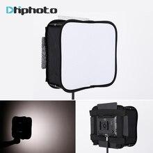 Sb600/sb300 estúdio softbox difusor para yongnuo yn600l ii yn900 yn300 yn300 iii ar led painel de luz vídeo dobrável filtro macio
