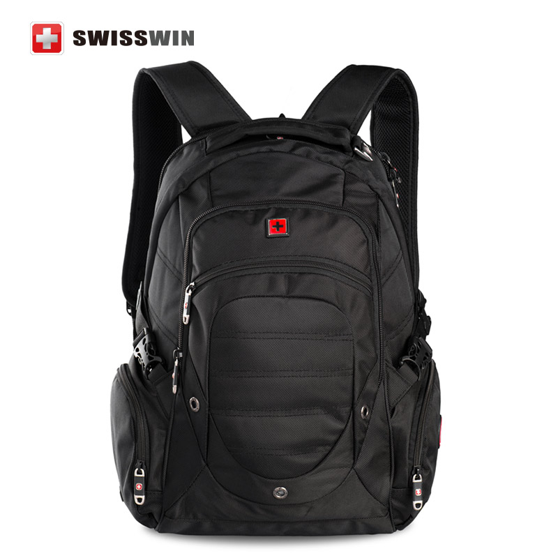 Swiss Backpack Military Backpack Male Multifunctional 38L Large Travel Bagpack Men s Waterproof 15 Laptop Backpack