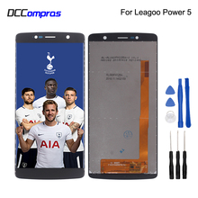 Original For Leagoo Power 5 LCD Display Touch Screen Phone Parts Digitizer Free Tools