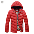 Thick Warm Winter duck Down Jacket for Men 2016 Solids sweatshirt Men Hoodies Waterproof Fur Collar Parkas Coat Western style