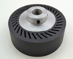 140*35*25.4mm szlifierka taśmowa gumowe koła kontaktowe pasy ścierne zestaw rubber contact wheels contact wheelabrasive belt -