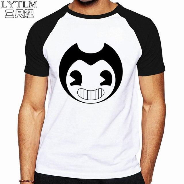 LYTLM Mens Hip Hop Shirts Bendy T Shirt Homme White Shirt Men Plus Size Camisetas  Masculina De Marcas Top Men Tshirt Funny Geek 1d579c1294672