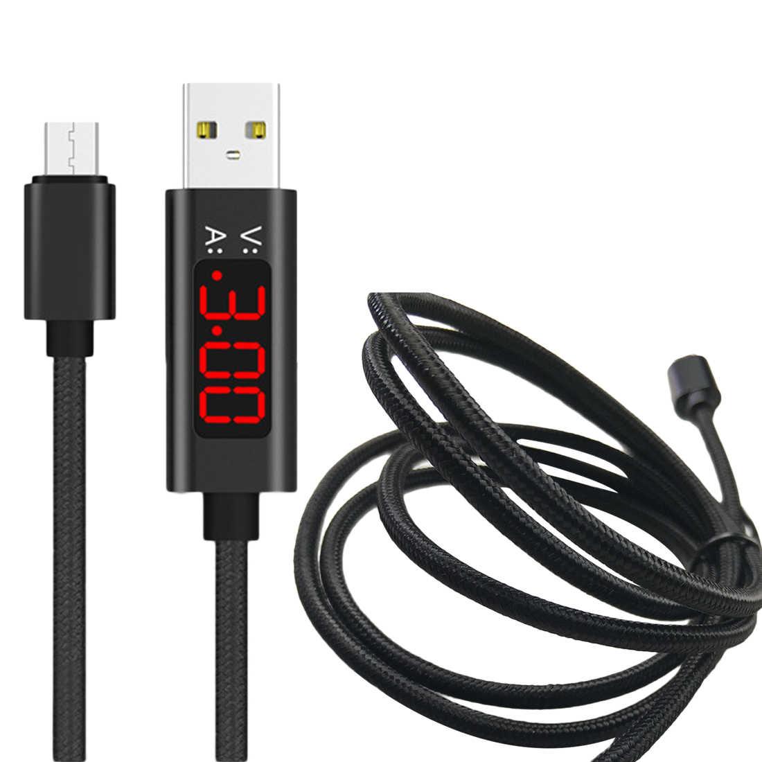 1M Micro USB type c kabel typu C napięcie prądu Tester