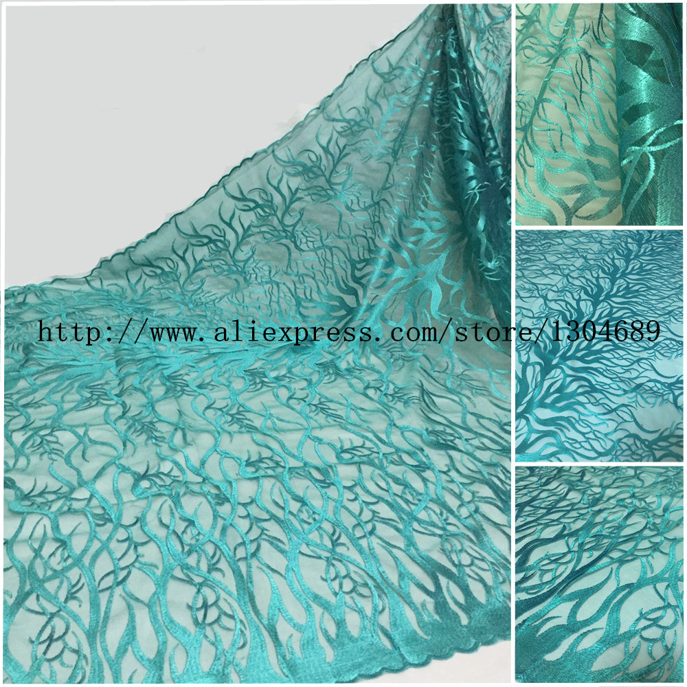 New Style French Net Lace Fabric