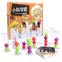 Bili Logical thinking push of the Learning board game parent child interaction Family Party Game toys for Kid Christmas gift