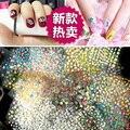 100 листов Floral Дизайн 3D Ногтей Наклейки Передача Nail Art Наклейки DIY Типсы Украшение Инструменты