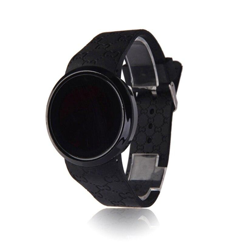 6b903dba3692cd Nowy 2018 zegarek męski pasek silikonowy ekran dotykowy LED zegarek cyfrowy  mężczyźni zegarek sportowy data czas wyświetlania w Nowy 2018 zegarek męski  ...
