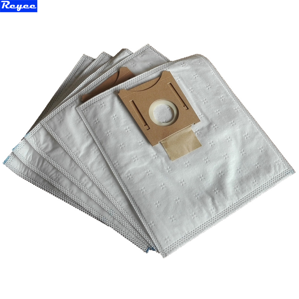 5x Vacuum Cleaner Type E F XL Dust Bags Microfiber HEPA Bag and 2x HEPA Filter replacement for Bosch Type G BS55 GL30 10x dust bags and 2x pieces hepa filters replacement for miele s227i s5 white pearl s400 g