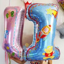 quality children birthday aluminum