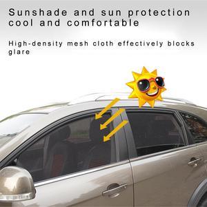 Image 5 - الصيف سميكة شبكة سيارة مظلات سيارة ستارة مغناطيسية الشمس الظل الأشعة فوق البنفسجية حماية شبكة نافذة جانبية الشمس