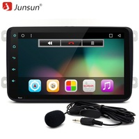 Junsun 2 Din Car DVD Radio Player Android 6 0 Autoradio GPS Navigation Bluetooth Wifi For