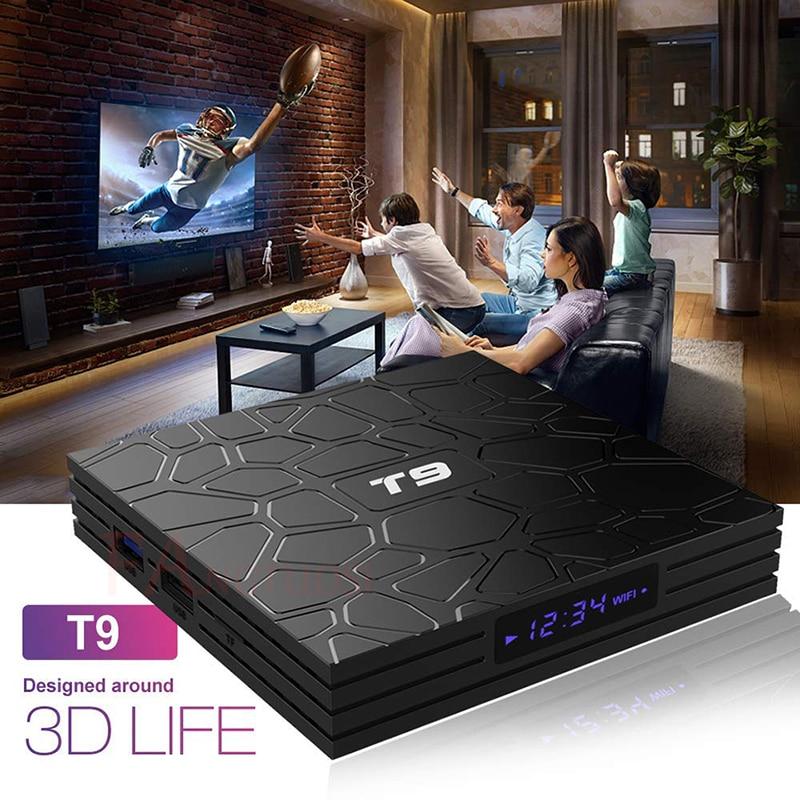 FANGTUOSI T9 TV Box Android 8,1 4 GB 32 GB 64 GB Smart TV Rockchip RK3328 1080 p H.265 4 K Google Netflix, Youtube reproductor de medios - 6