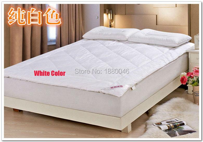 Alta qualidade 100% seda cheio colchão cama colchão colchão tampa de ano solução 2 KG frete grátis