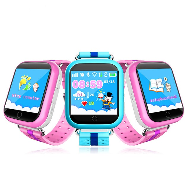 GPS smart watch Q750 baby watch with Wifi 1.54inch touch screen SOS Call Location Device Tracker for Kid Safe Anti-Lost Monitor smart baby watch каркам q60 голубые
