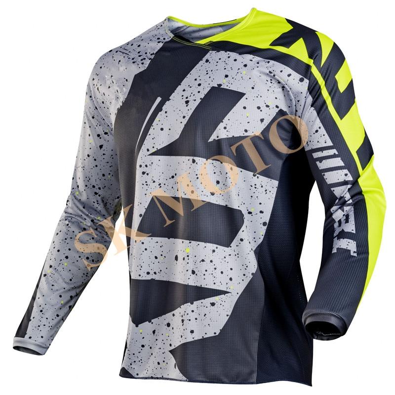 New 2017 NIRV 180 HC Motocross Jersey Motorcycle Long Sleeve Racing T Shirt Dirt Bike Cycling