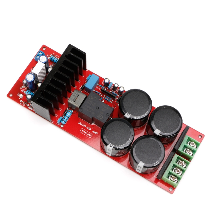 IRS2092 IRFB23N15 D Class 30A D Amplifier Board Mono 350W 8ohm 700W 4ohm UPC1237 FREE SHIPPING