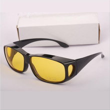 ФОТО 2018 new hd night vision goggles multi-function night driving glasses men uv protection male retro sunglasses