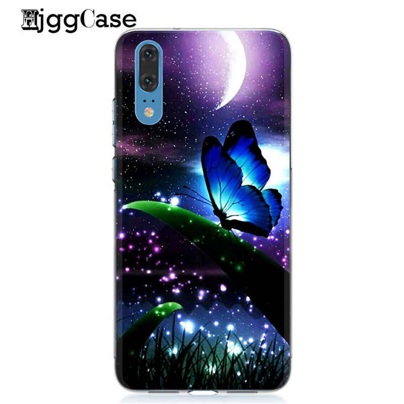 Phone Shell For Huawei Y9 2019 Case 6.5 inch Solf TPU Fashion Cute Color Paint Mobile For Huawei Y9 (2019) DIY Bags Phone Cover