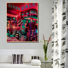 Riverdale Cosmic Diner Canvas Painting Prints Bedroom Home Decoration Modern Wall HD Art Posters Pictures Accessories