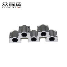 6PCS/LOT SCS8UU 8mm Linear Ball Bearing Block CNC Router Reprap 3D printer DIY Kit Accessories 3D printer parts