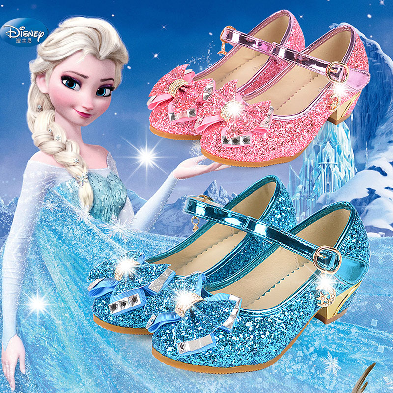2019 nova primavera e no outono princesa sapatos sapatos meninas das criancas magia lantejoulas princesa sapatos