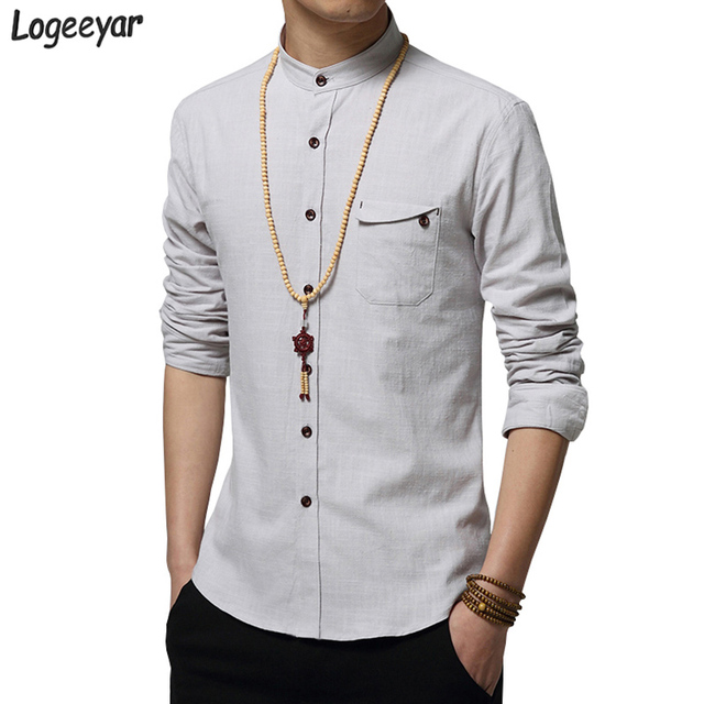 Aliexpress.com : Buy Men Shirt 2017 Spring New Style Long Sleeve ...