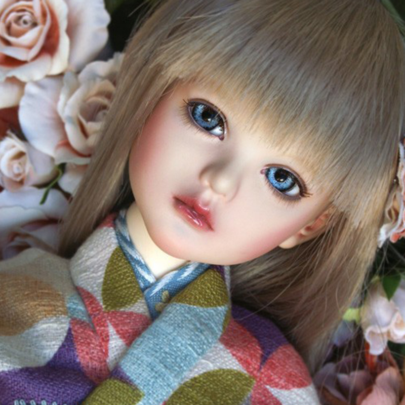 Hot Sale ai-doll Alice Kimono 1/4 bjd sd dolls resin dollhouse figures dolls stuffed toys soom lati luts fairyland dod handsome grey woolen coat belt for bjd 1 3 sd10 sd13 sd17 uncle ssdf sd luts dod dz as doll clothes cmb107