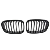 High quality and durable Bright Black Front Kidney Grill Grille For Bmw F20 F21 1 Series 2011 2014