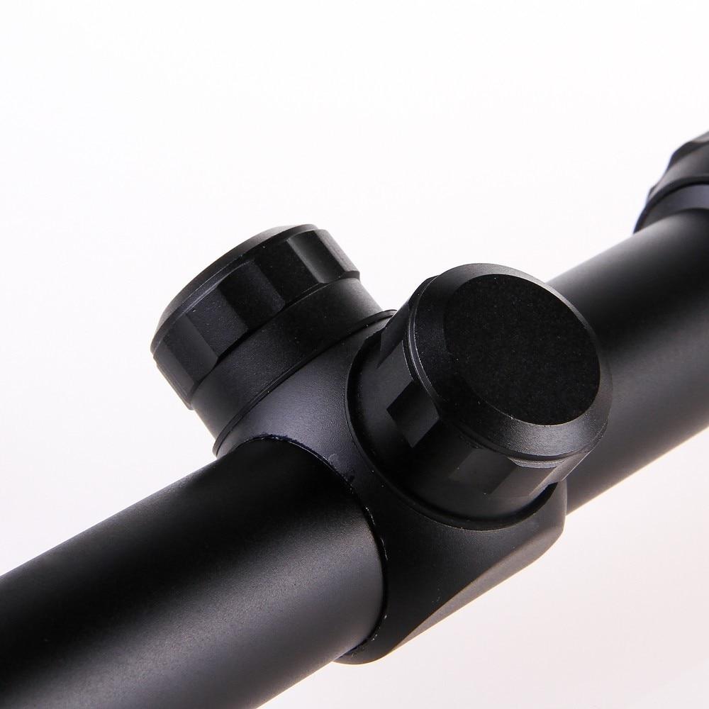 retículo visão óptica sniper cervos caça tático riflescope 20mm caça escopo