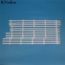 10 lamba LED arka ışık şeridi için 50LN541U 50LN541V 50LN542V 50LN549C 50LN549E 50LN550V  ZB ZA ZC bar... televizyon LED bantlar