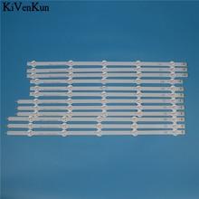 10 tira de LED para iluminación trasera de lámpara para LG 50LN541U 50LN541V 50LN542V 50LN549C 50LN549E 50LN550V  ZB ZA ZC bandas de juego de barras de televisión LED