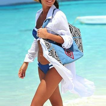 2019 Solid Women Swimwear Beach Cover Up Perspective Beach Dress Kaftan Beach Wear Blouse Shirts Pareos De Playa Saida De Praia 2