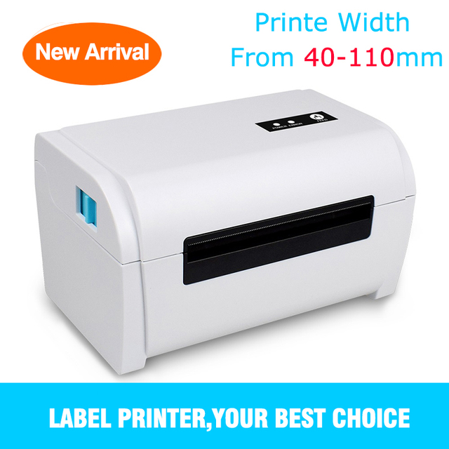 4 Inches Thermal Barcode Shipping Label Printer Sticker Printing Machine High Speed 160mm/s Compatible With eBay Shopify 4x6