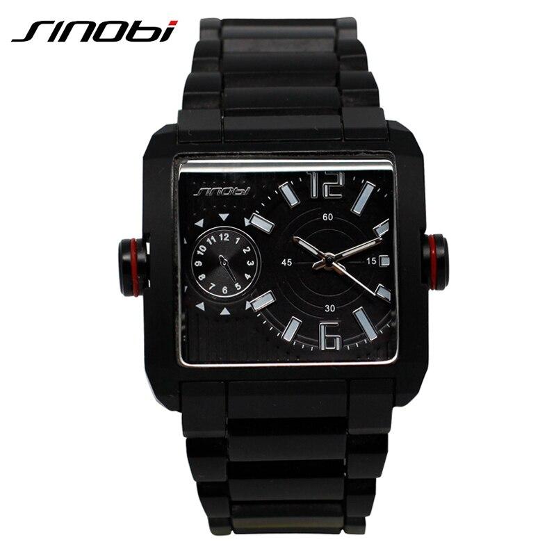 42674aeeed0 SINOBI Multifunções Ao Ar Livre Do Vintage Novo Design Homens Relógios de  Alta Qualidade Relógio Para Homens 2018 Lazer Viagens Erkek Kol Saati