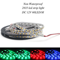 wholesale LED strip light ribbon 5 meters 300 pcs SMD3528 2835 DC 12V White/Warm White/Red/Green/Blue/Yellow single color