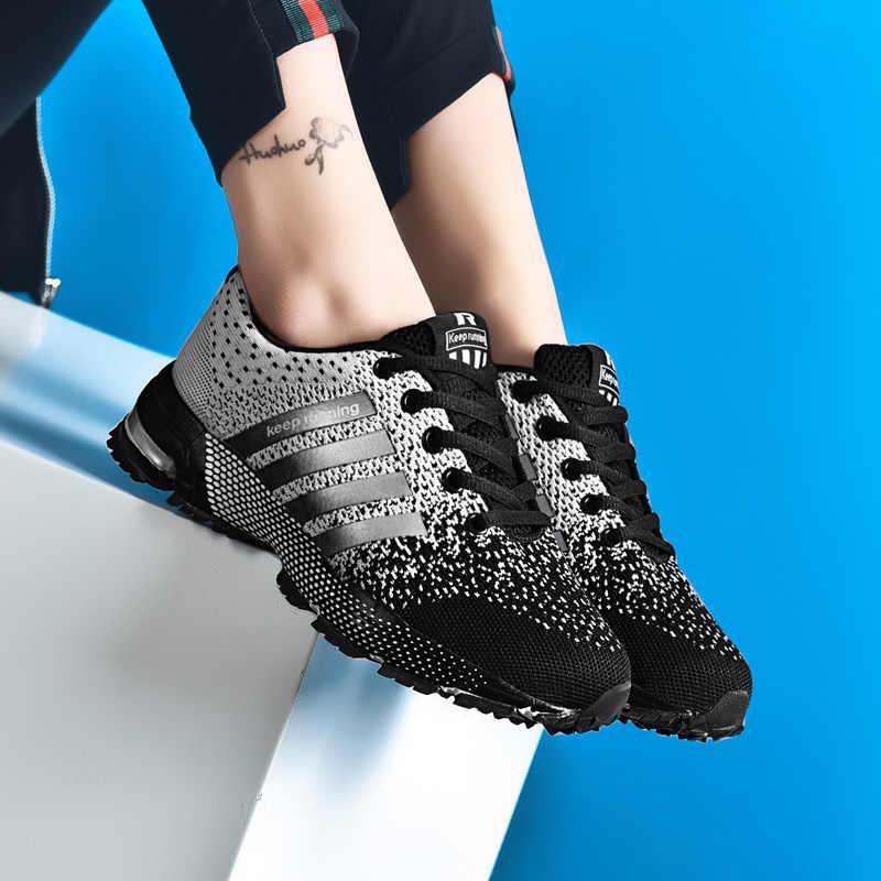 Кроссовки для бега мужские спортивные кроссовки мужские амортизирующие уличные дышащие Sapato Masculino унисекс кроссовки Женщины Спорт Тренажерный зал обувь мужские
