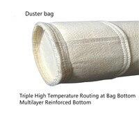 산업용 먼지 수집 가방 고온 방지 필터 가방 누출 펄스 먼지 수집 가방