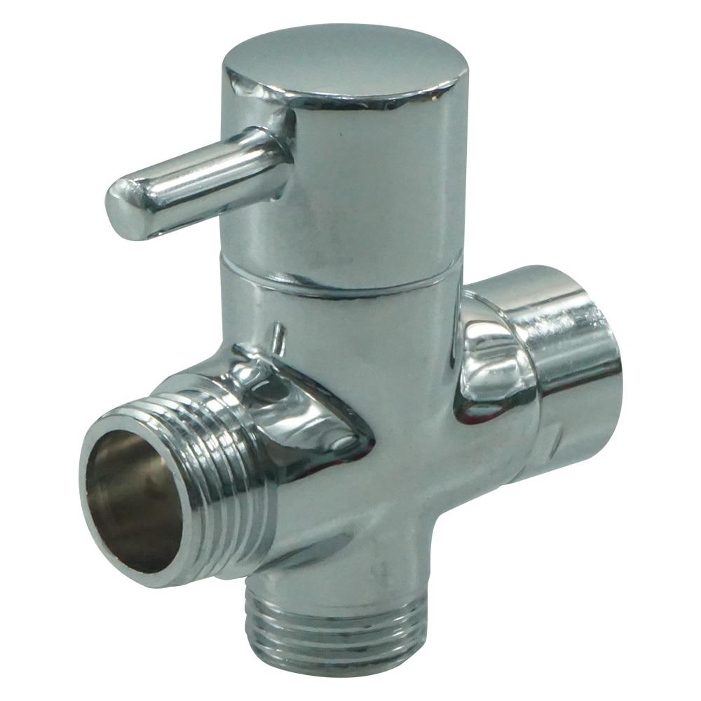 3 Way T adapter Valve For Toilet Bidet Shower Head Diverter Valve 1 ...