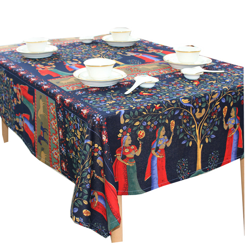 Us 96 39 Offhot Sale Phuket Style Table Cloth Home Outdoor Coffee Table Cloth Hotel Restaurant Table Cover In Tablecloths From Home Garden On
