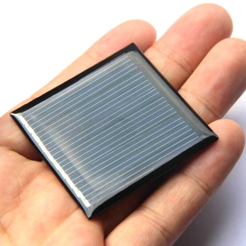 BUHESHUI Mini Solar Cell Module DIY Solar Panel Charger 0.25W 5V For 3.7V Battery 45*45mm Polycrystalline 1000pcs/lot Wholesale